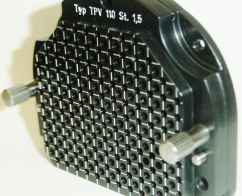 Universelle Templateplattensystem