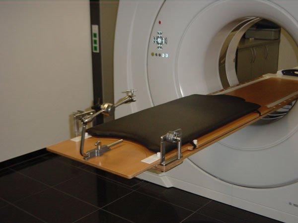 CT-Auflage, Ausgangs-/Behandlungsposition